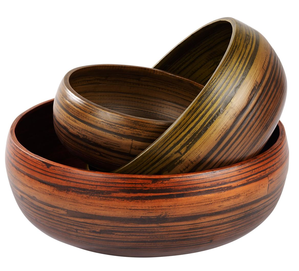 HOME BAMBOO Fuente decorativa M marrón A 12 cm; Ø 28 cm_home-bamboo-fuente-decorativa-m-marrón-a-12-cm;-ø-28-cm