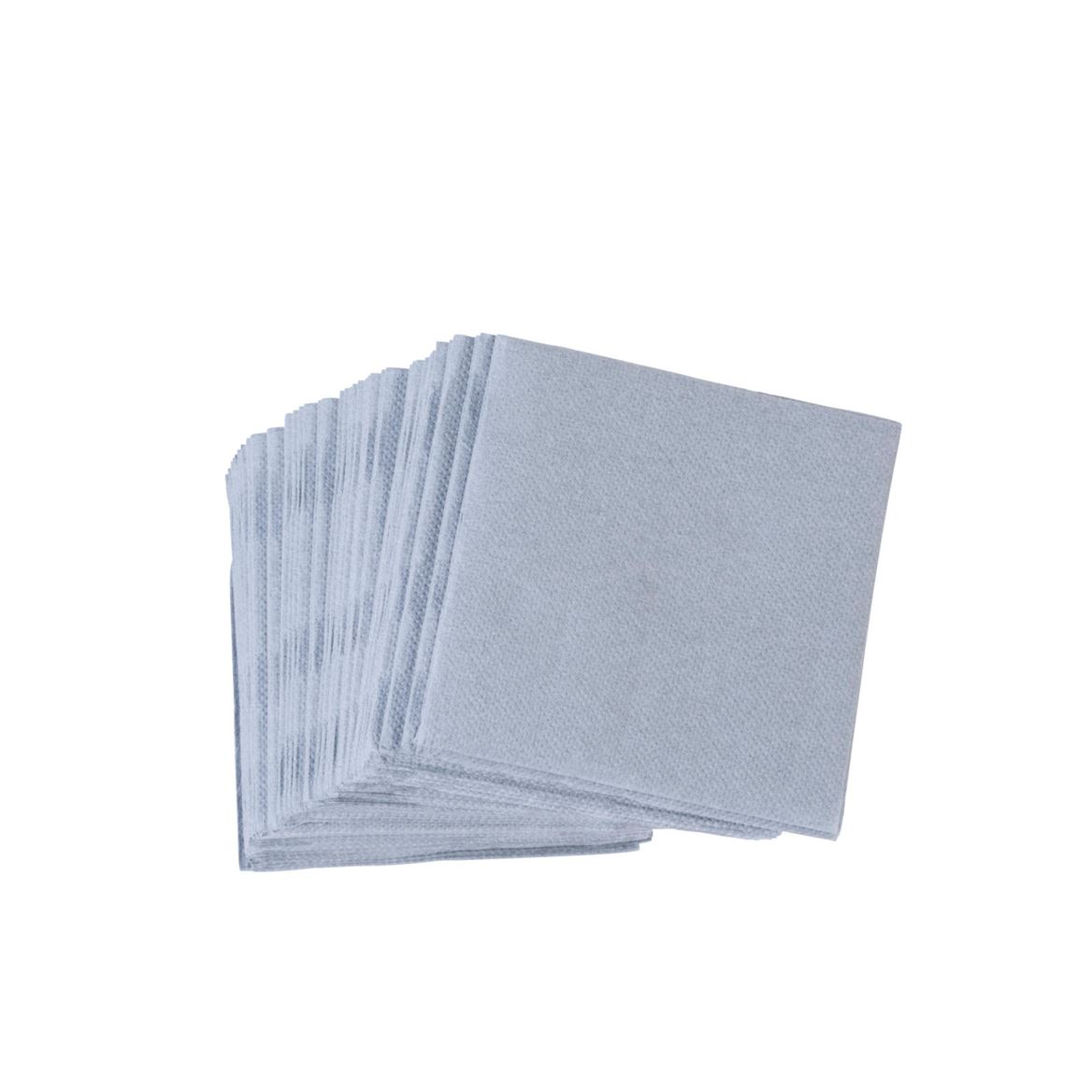 SOFT Set de 50 serviettes apéro 2 couleurs noir, gris Larg. 20 x Long. 20 cm_soft-set-de-50-serviettes-apéro-2-couleurs-noir,-gris-larg--20-x-long--20-cm