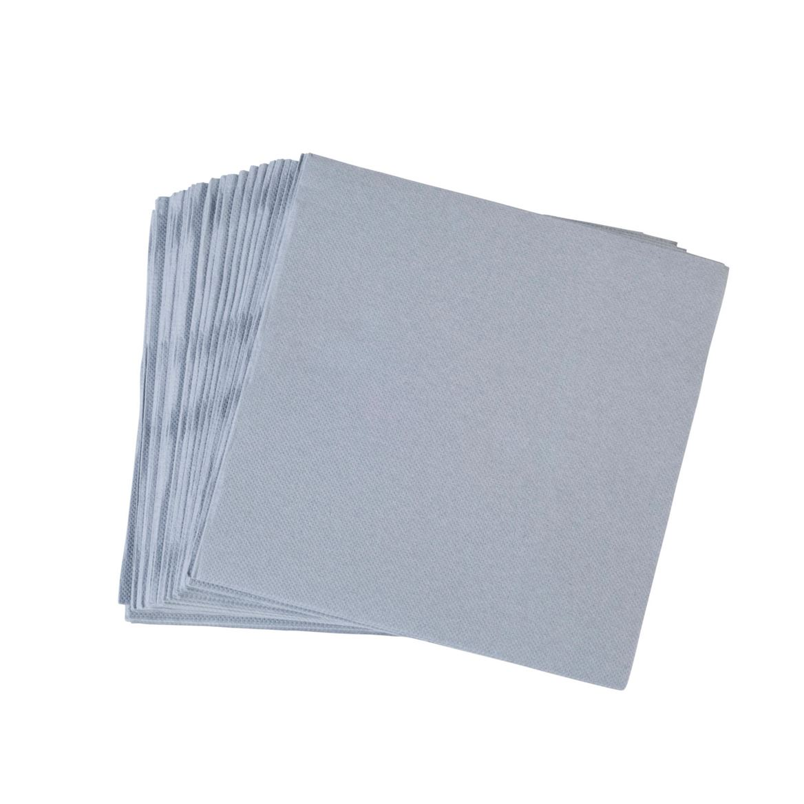 SOFT Set de 40 serviettes 2 couleurs noir, gris Larg. 38 x Long. 38 cm_soft-set-de-40-serviettes-2-couleurs-noir,-gris-larg--38-x-long--38-cm