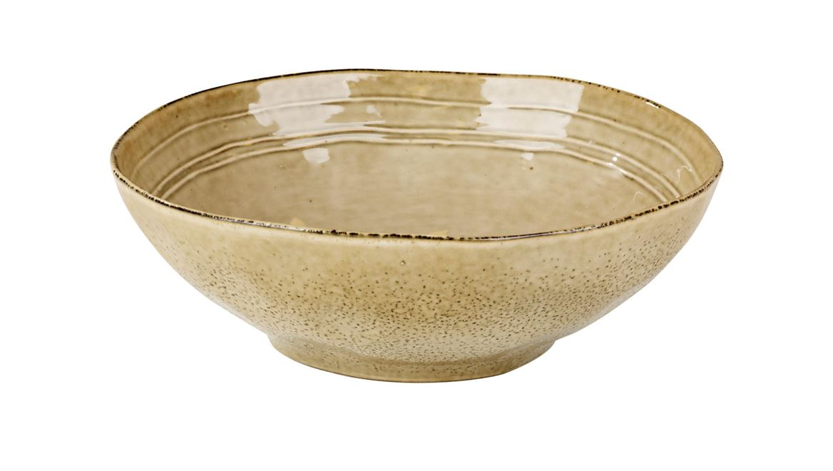 EARTH SAND Bol brun clair H 6,4 cm; Ø 24 cm_earth-sand-bol-brun-clair-h-6,4-cm;-ø-24-cm