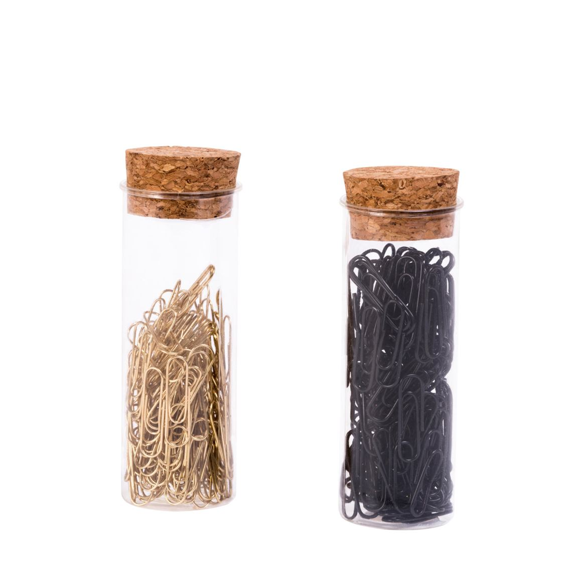 JAR Trombones set de 120 2 couleurs noir, doré Long. 2,8 cm_jar-trombones-set-de-120-2-couleurs-noir,-doré-long--2,8-cm