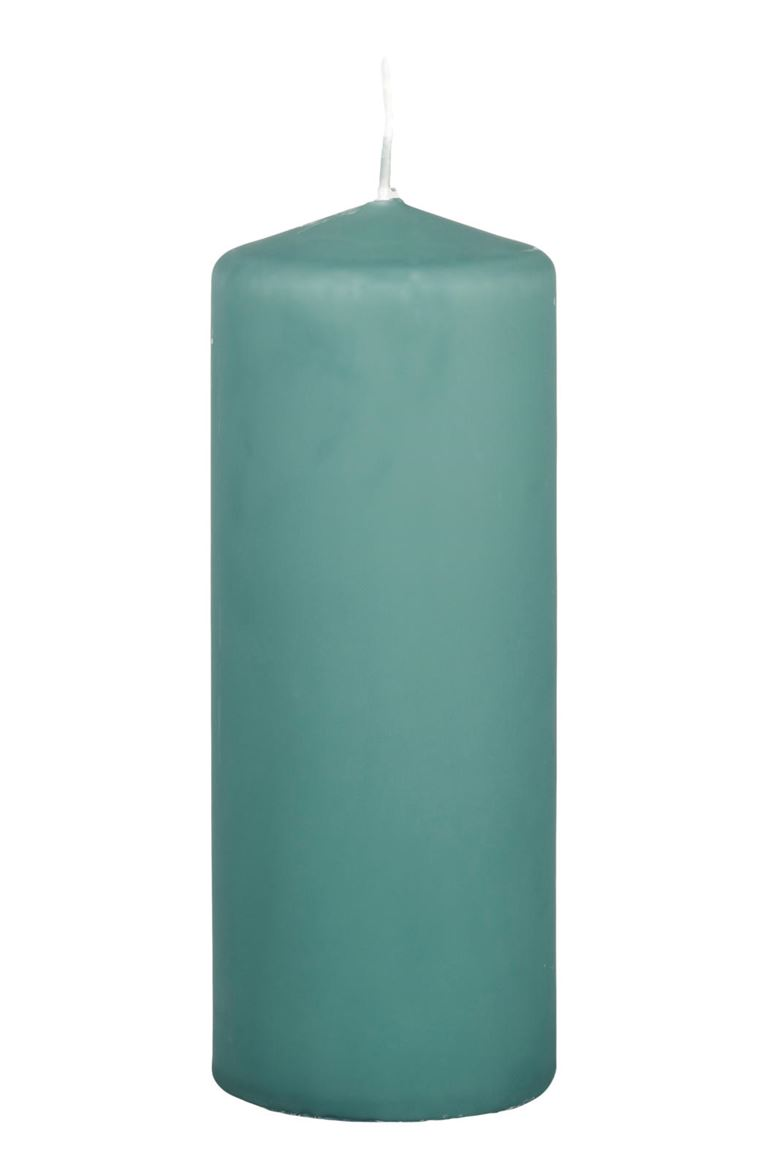 CILINDRO Bougie cylindrique vert H 20 cm; Ø 8 cm_cilindro-bougie-cylindrique-vert-h-20-cm;-ø-8-cm