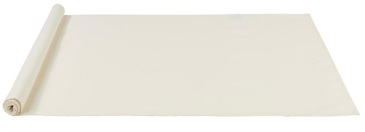 UNILINE Chemin de table blanc cassé Larg. 45 x Long. 138 cm_uniline-chemin-de-table-blanc-cassé-larg--45-x-long--138-cm