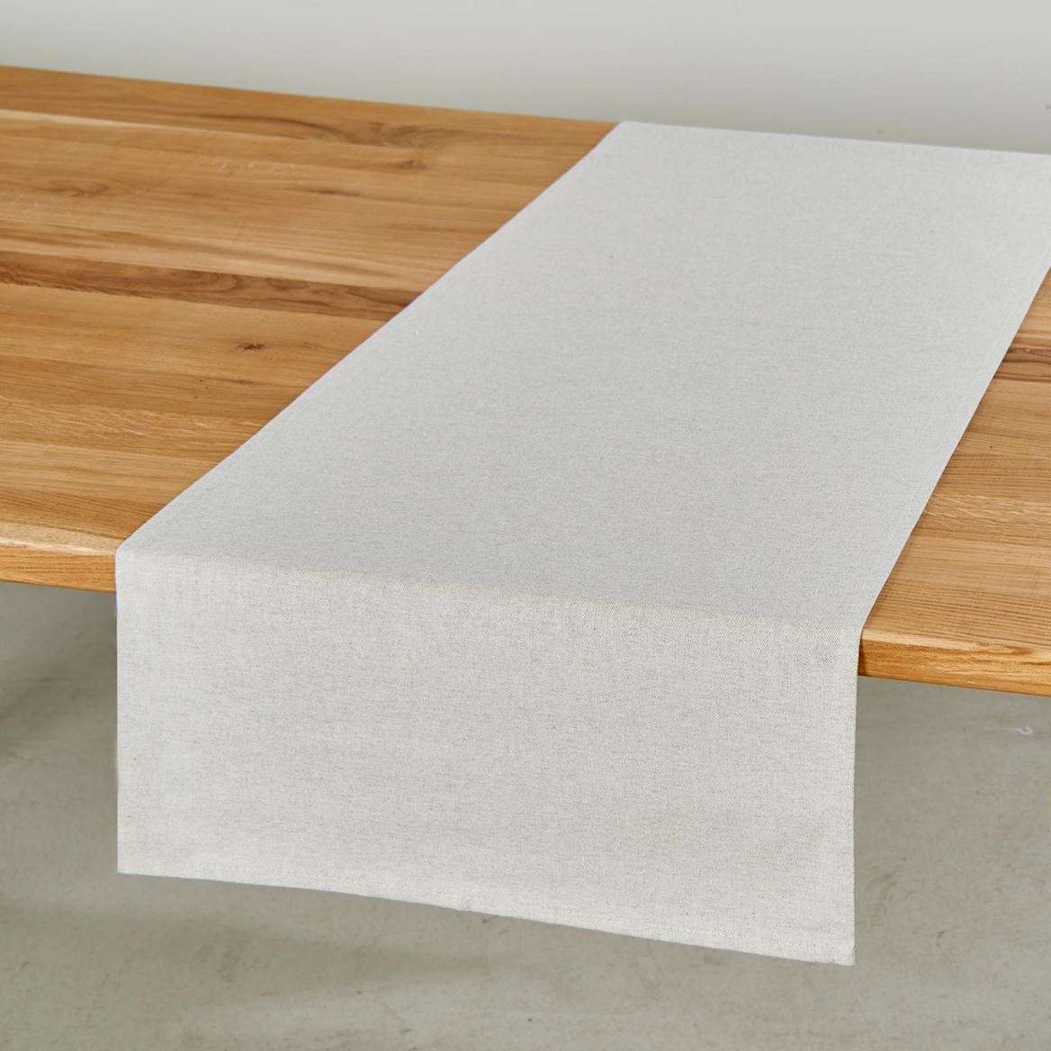 MELANGE Chemin de table beige Larg. 45 x Long. 138 cm_melange-chemin-de-table-beige-larg--45-x-long--138-cm