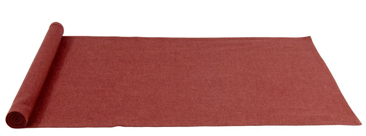 ORGANIC Chemin de table rouge Larg. 40 x Long. 140 cm_organic-chemin-de-table-rouge-larg--40-x-long--140-cm