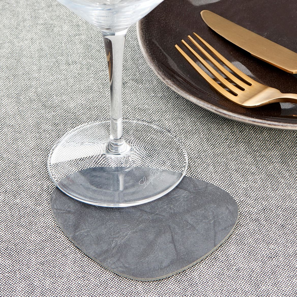 ELLIPS Dessous-de-verre set de 4 gris Larg. 10 x Long. 9 cm_ellips-dessous-de-verre-set-de-4-gris-larg--10-x-long--9-cm