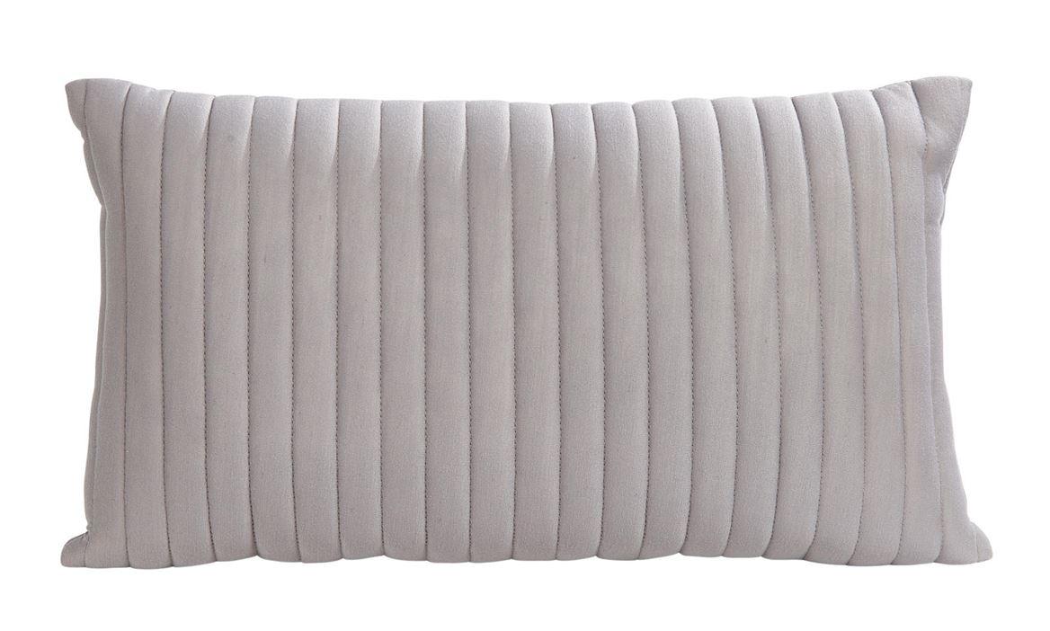 PERCY Coussin gris clair Larg. 30 x Long. 50 cm_percy-coussin-gris-clair-larg--30-x-long--50-cm