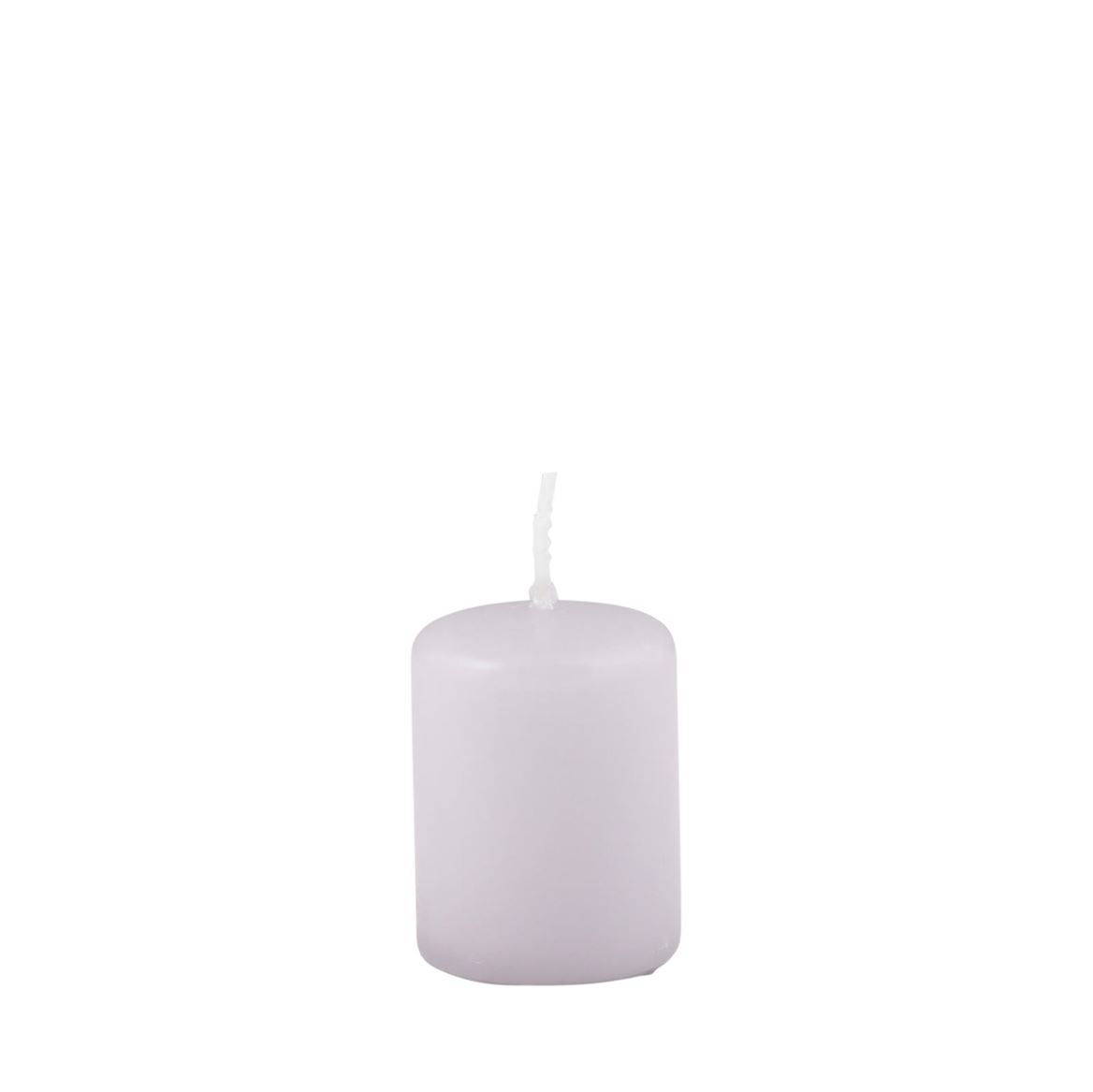 CILINDRO Bougie cylindrique gris lila H 5 cm; Ø 4 cm_cilindro-bougie-cylindrique-gris-lila-h-5-cm;-ø-4-cm