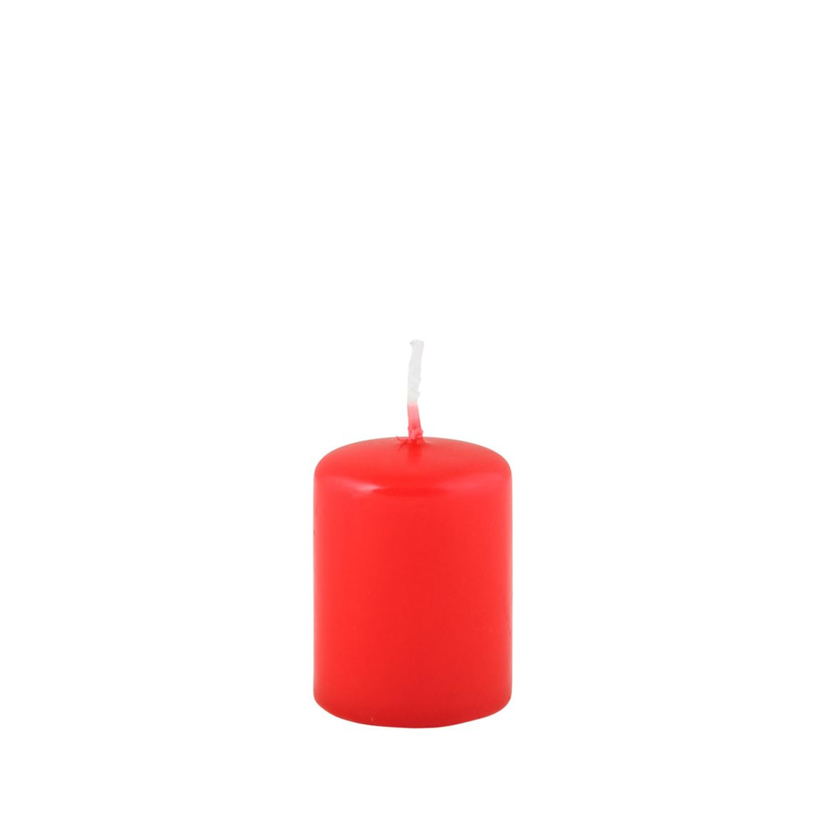 CILINDRO Bougie cylindrique rouge H 5 cm; Ø 4 cm_cilindro-bougie-cylindrique-rouge-h-5-cm;-ø-4-cm