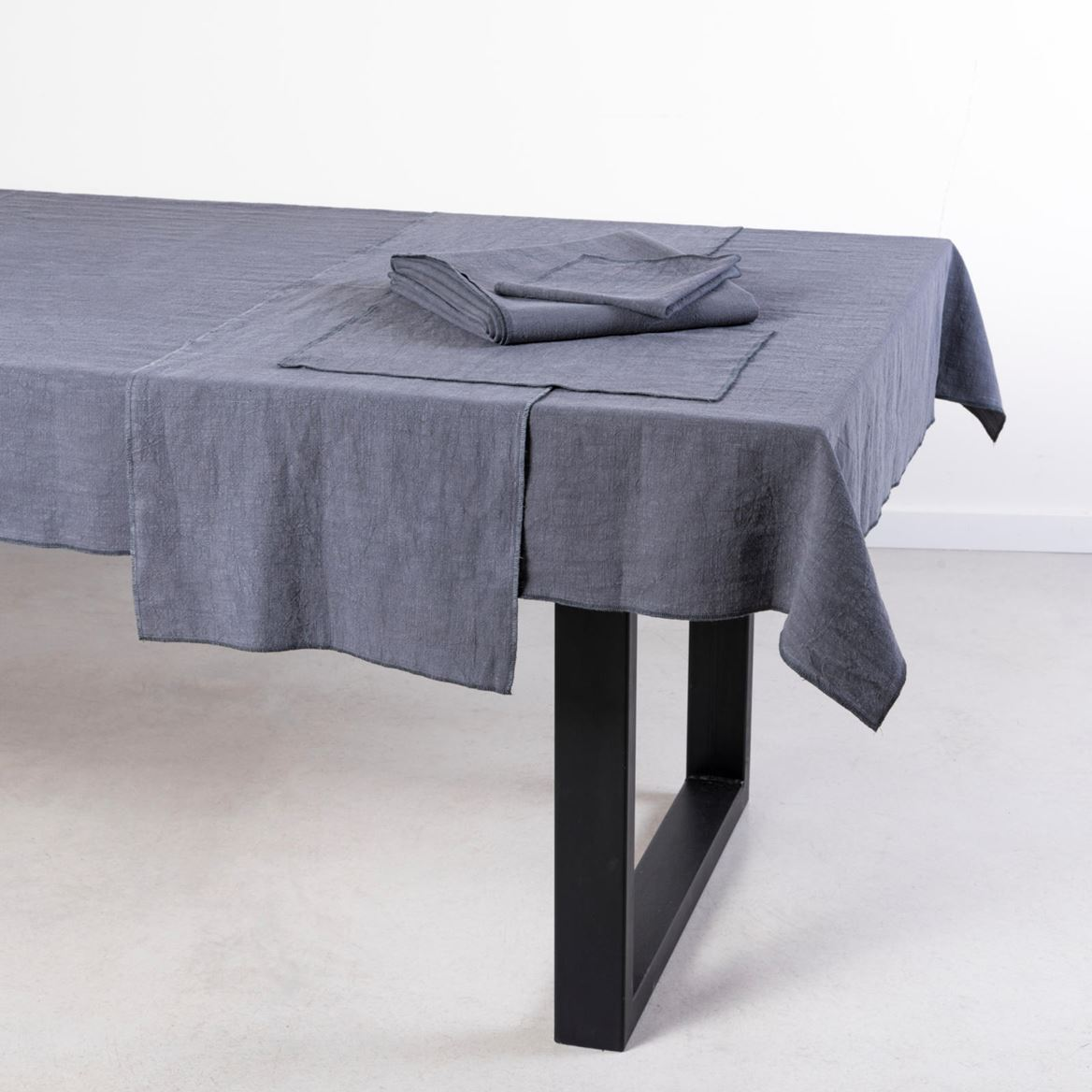 LUXALIN Mantel individual gris oscuro An. 30 x L 45 cm_luxalin-mantel-individual-gris-oscuro-an--30-x-l-45-cm