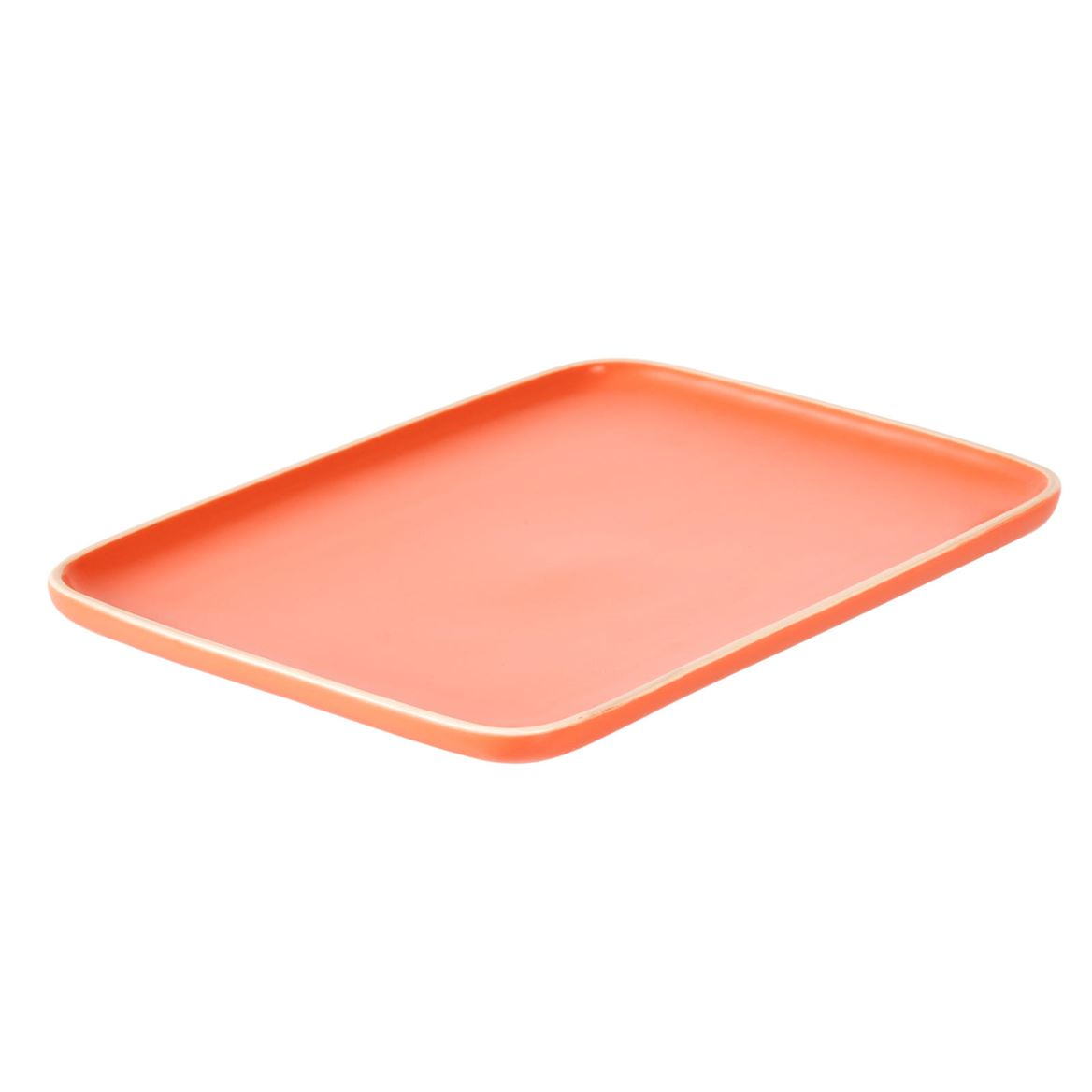 ELEMENTS Plato naranja An. 21.5 x L 30 cm_elements-plato-naranja-an--21-5-x-l-30-cm