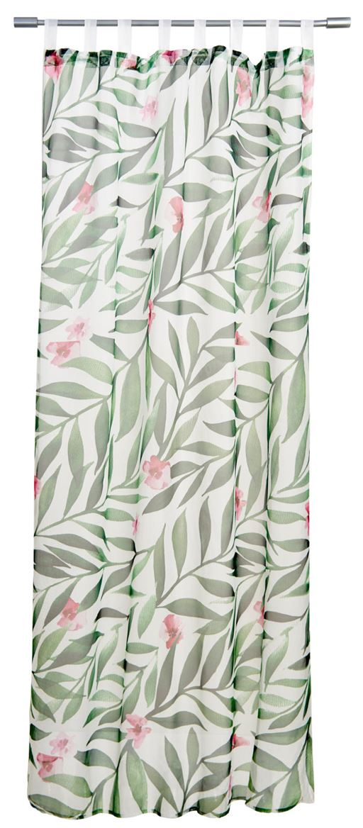 TROPIC FLOWER Gordijn multicolor B 140 x L 240 cm_tropic-flower-gordijn-multicolor-b-140-x-l-240-cm