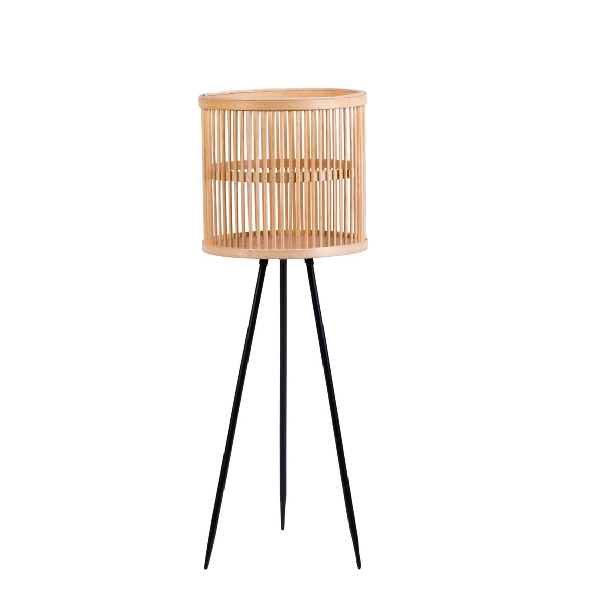 RATTAN Support sur pied naturel H 79 cm; Ø 27 cm_rattan-support-sur-pied-naturel-h-79-cm;-ø-27-cm