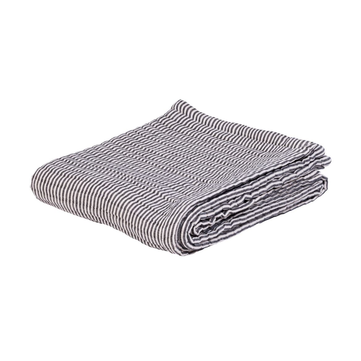 MARIN Plaid blanc, bleu Larg. 125 x Long. 150 cm_marin-plaid-blanc,-bleu-larg--125-x-long--150-cm