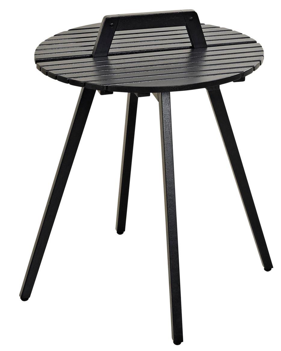 LEVI Table lounge noir H 50 cm; Ø 49 cm_levi-table-lounge-noir-h-50-cm;-ø-49-cm