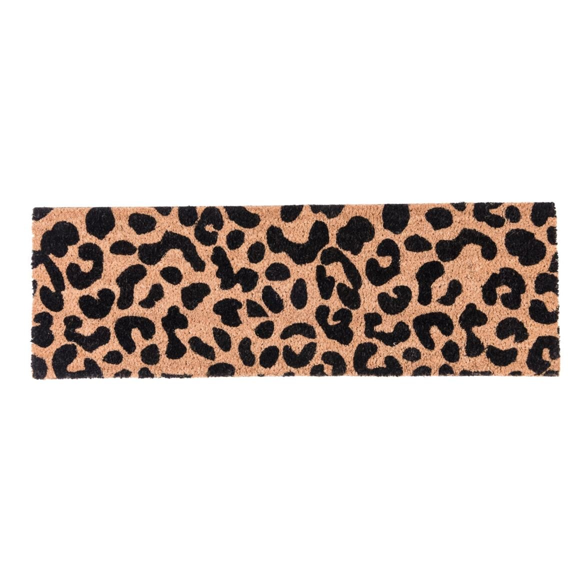CHEETAH Paillasson brun clair Larg. 25 x Long. 75 cm_cheetah-paillasson-brun-clair-larg--25-x-long--75-cm
