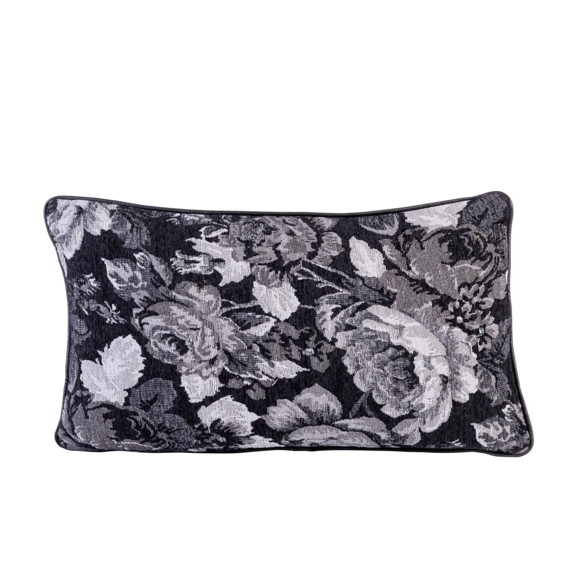 BLACK ROSE Coussin multicolore Larg. 30 x Long. 50 cm_black-rose-coussin-multicolore-larg--30-x-long--50-cm