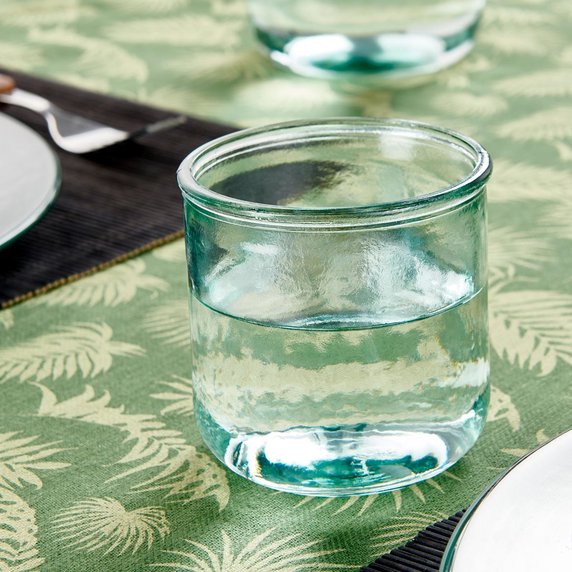 RECYCLE Glas transparant H 9 cm; Ø 9 cm_recycle-glas-transparant-h-9-cm;-ø-9-cm