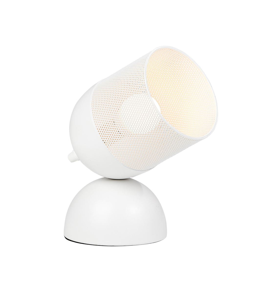 FLINT Lampe de table blanc H 26 x Larg. 20 x P 12 cm_flint-lampe-de-table-blanc-h-26-x-larg--20-x-p-12-cm