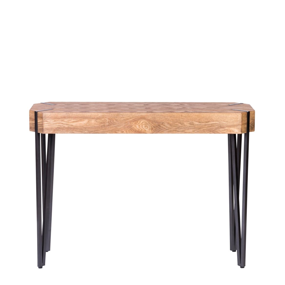 LANON Table murale noir, naturel H 77 x Larg. 107 x P 36 cm_lanon-table-murale-noir,-naturel-h-77-x-larg--107-x-p-36-cm