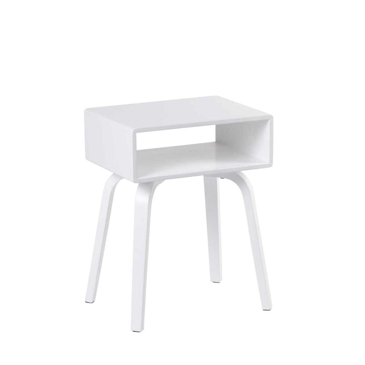 OLI Table de chevet blanc H 52 x Larg. 30 x P 40 cm_oli-table-de-chevet-blanc-h-52-x-larg--30-x-p-40-cm