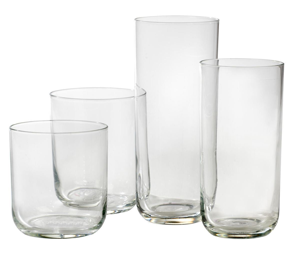 BLISS Verre transparent H 8.5 cm; Ø 7.7 cm_bliss-verre-transparent-h-8-5-cm;-ø-7-7-cm