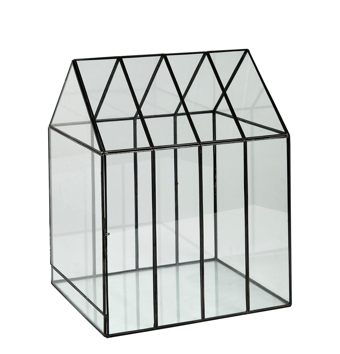 GREENHOUSE Serre transparent H 38 x Larg. 29,5 x P 25,5 cm_greenhouse-serre-transparent-h-38-x-larg--29,5-x-p-25,5-cm