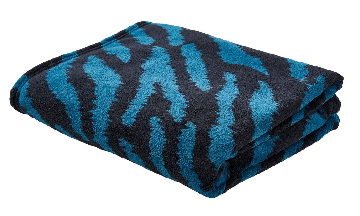 BLUE TIGER Plaid multicolor B 130 x L 160 cm_blue-tiger-plaid-multicolor-b-130-x-l-160-cm