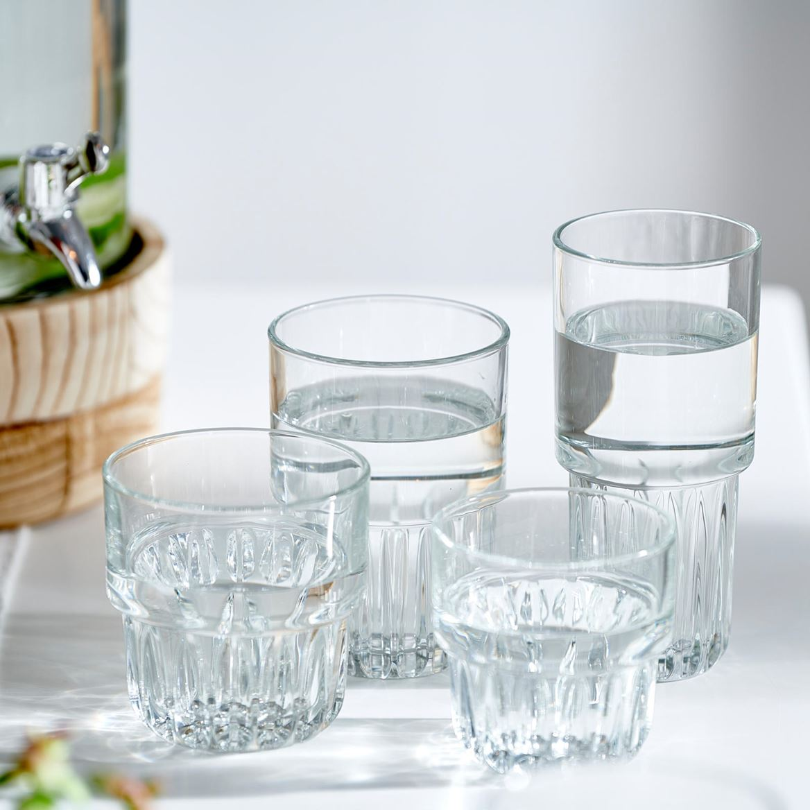 EVEREST Verre transparent H 12,1 cm; Ø 8,6 cm_everest-verre-transparent-h-12,1-cm;-ø-8,6-cm