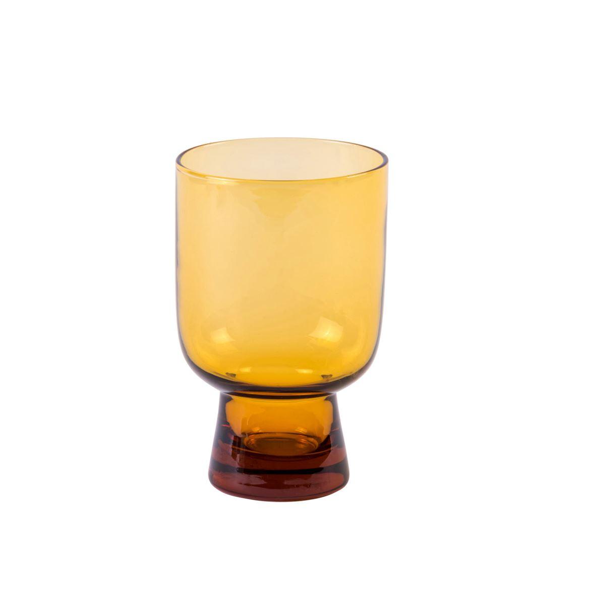 FINESSE AMBER Verre orange H 13,5 cm; Ø 9 cm_finesse-amber-verre-orange-h-13,5-cm;-ø-9-cm