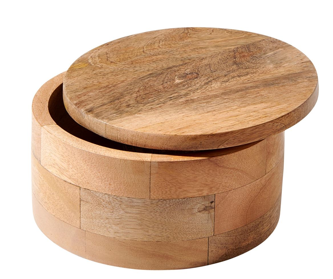 PURE LUXURY Pot de rangement naturel H 8 cm; Ø 15 cm_pure-luxury-pot-de-rangement-naturel-h-8-cm;-ø-15-cm