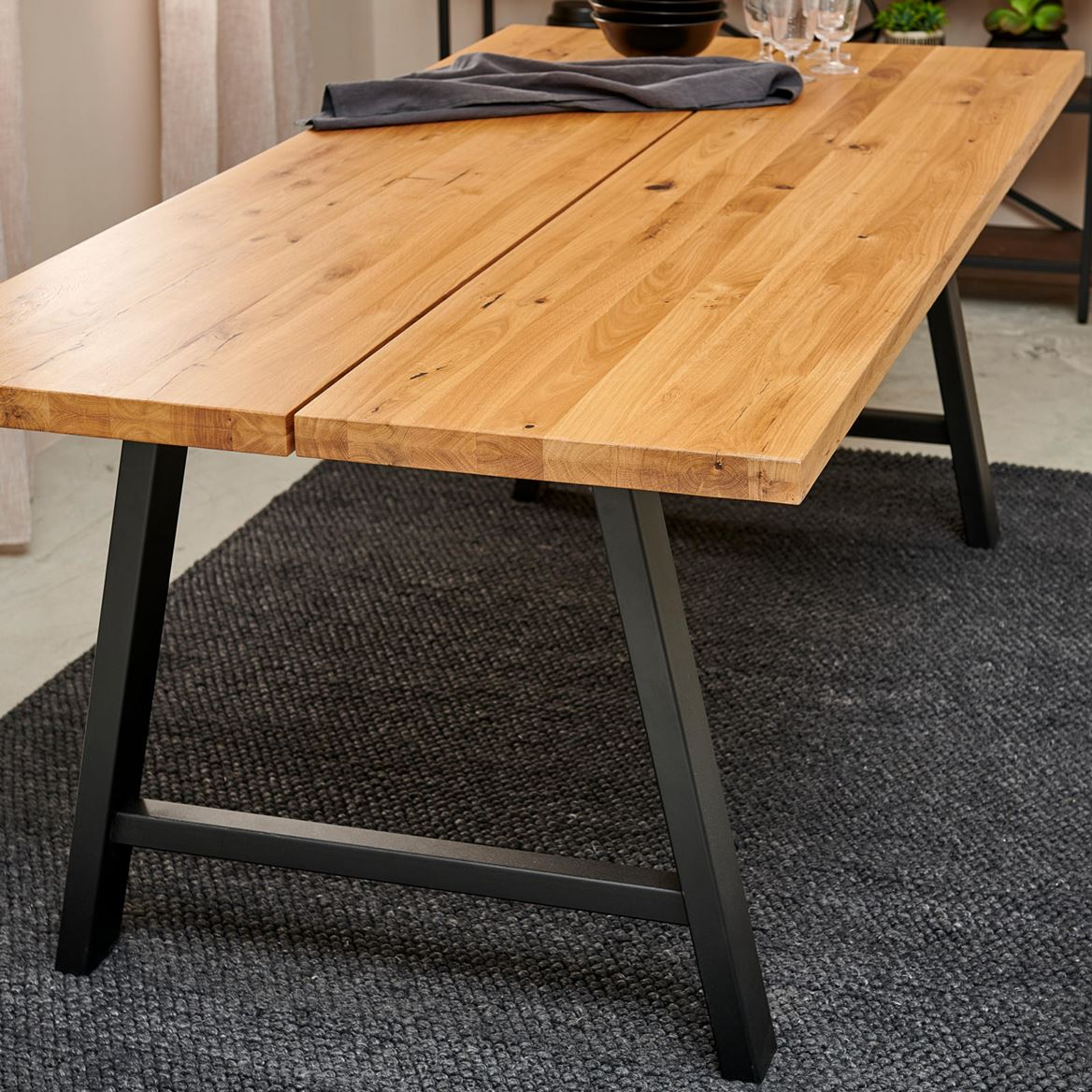 OAK SPLIT Table naturel H 75 x Larg. 95 x Long. 200 cm_oak-split-table-naturel-h-75-x-larg--95-x-long--200-cm