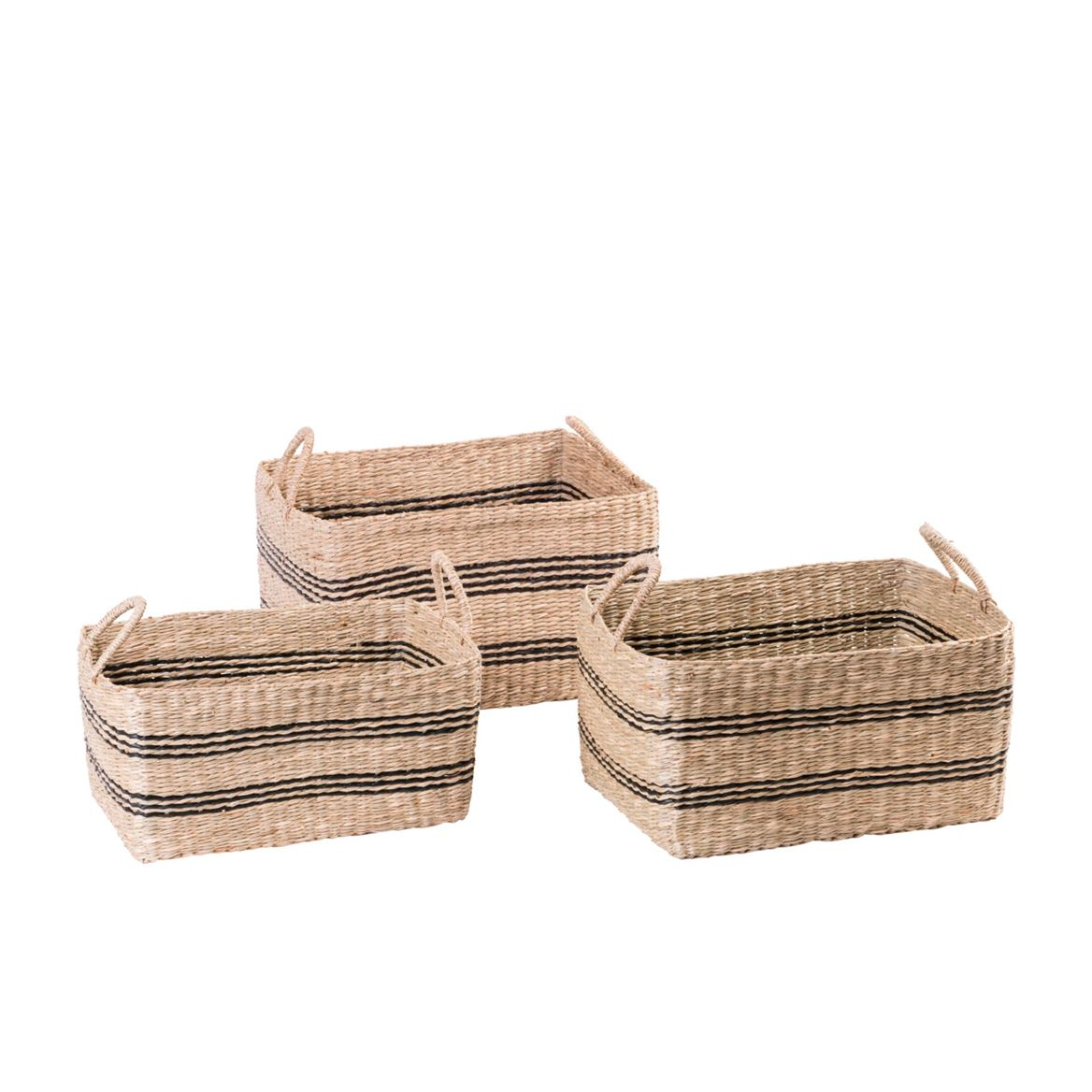 BILLY RAY Cesto nero, naturale H 26 x W 34 x D 24 cm_billy-ray-cesto-nero,-naturale-h-26-x-w-34-x-d-24-cm