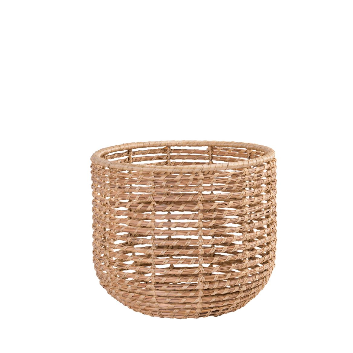 ALABAMA COCO Panier indoor/outdoor naturel H 29 cm; Ø 34 cm_alabama-coco-panier-indooroutdoor-naturel-h-29-cm;-ø-34-cm