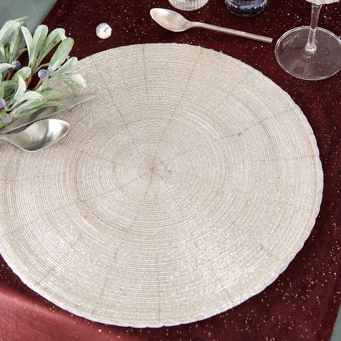 PEARLY ICE Set de table argent Ø 35 cm_pearly-ice-set-de-table-argent-ø-35-cm