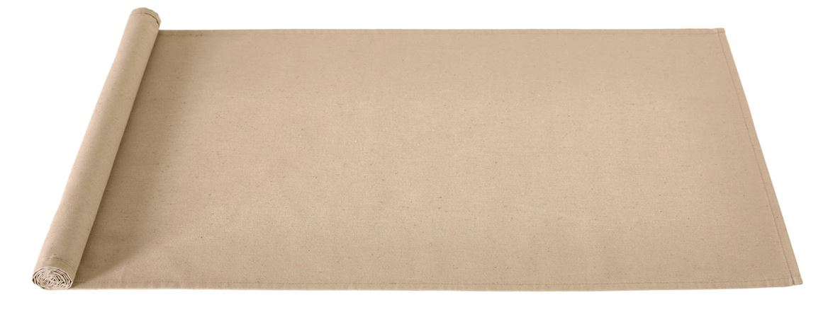 RECYCLE Tischläufer Taupe B 45 x L 138 cm_recycle-tischläufer-taupe-b-45-x-l-138-cm