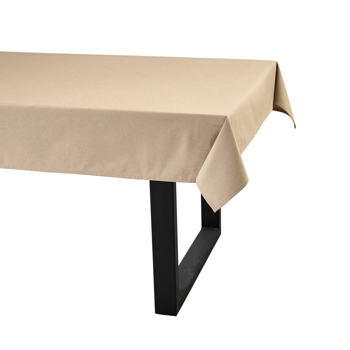 RECYCLE Toalha de mesa taupe W 138 x L 250 cm_recycle-toalha-de-mesa-taupe-w-138-x-l-250-cm