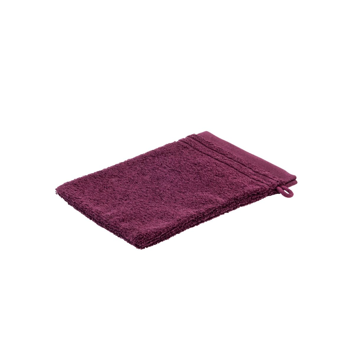 BIO SOFT Gant de toilette bordeaux Larg. 16 x Long. 21 cm_bio-soft-gant-de-toilette-bordeaux-larg--16-x-long--21-cm