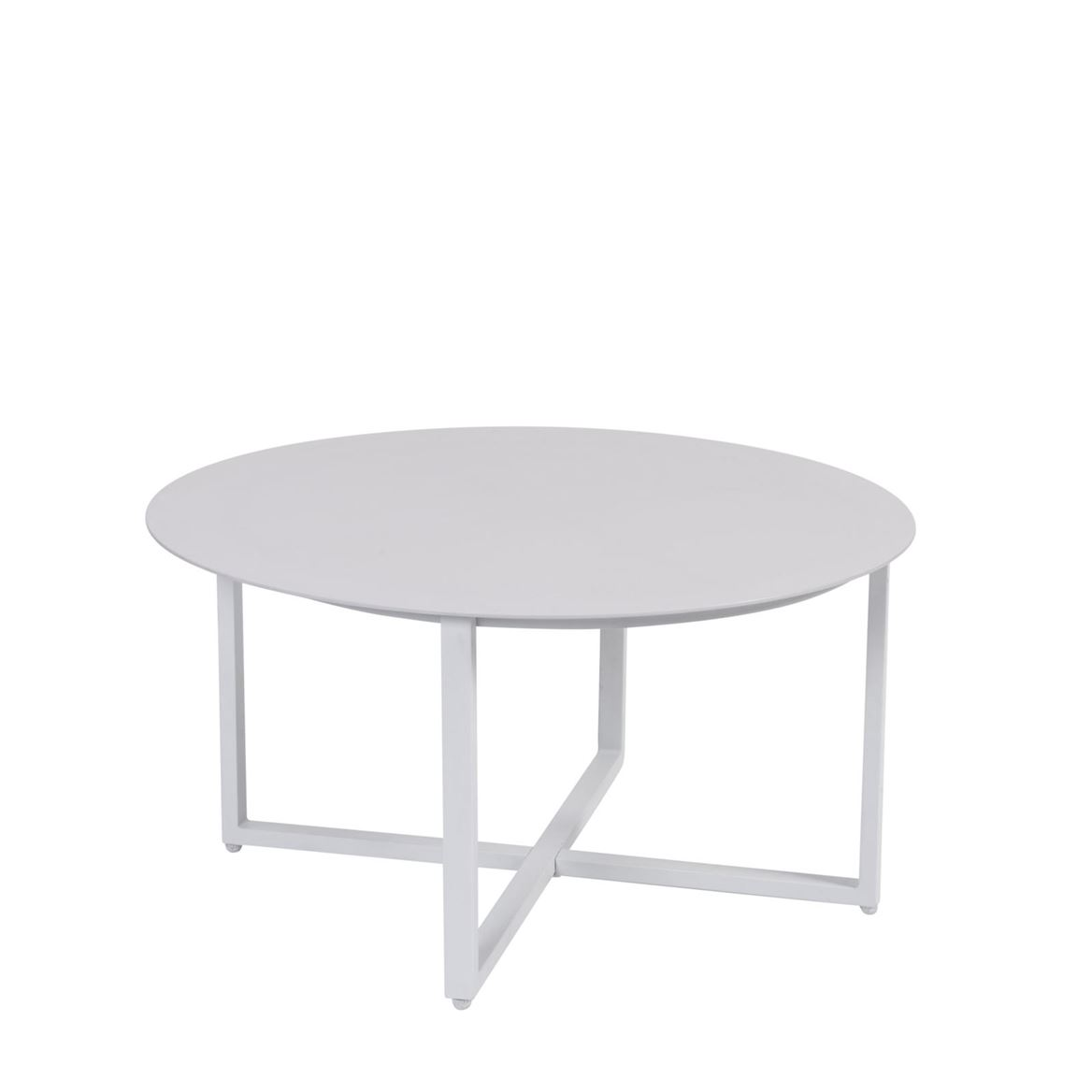 ARON Table lounge blanc H 40 cm; Ø 80 cm_aron-table-lounge-blanc-h-40-cm;-ø-80-cm