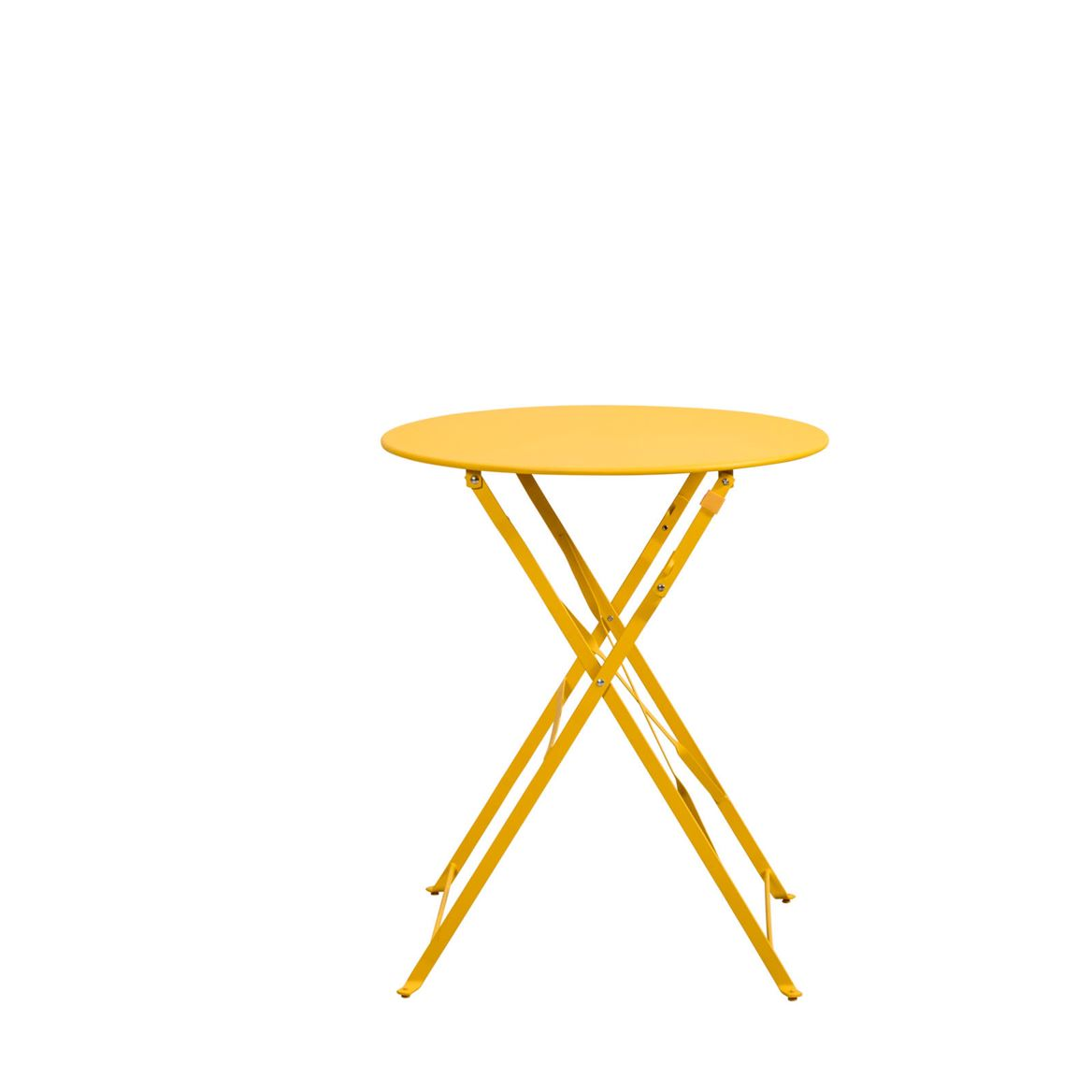 IMPERIAL Table bistrot jaune H 71 cm; Ø 60 cm_imperial-table-bistrot-jaune-h-71-cm;-ø-60-cm