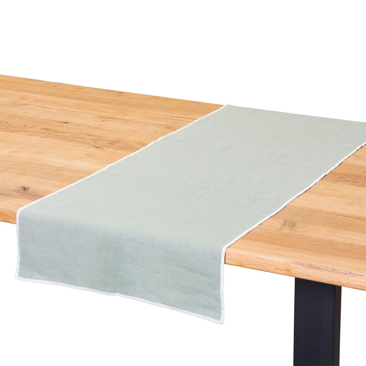 LINITY Chemin de table menthe Larg. 45 x Long. 150 cm_linity-chemin-de-table-menthe-larg--45-x-long--150-cm