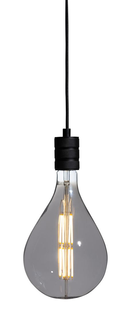 PARON Lampe LED transparent H 29 cm; Ø 16 cm_paron-lampe-led-transparent-h-29-cm;-ø-16-cm
