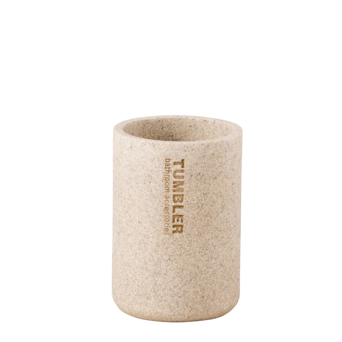 NEW RESIN Gobelet naturel H 11,5 cm; Ø 7,9 cm_new-resin-gobelet-naturel-h-11,5-cm;-ø-7,9-cm