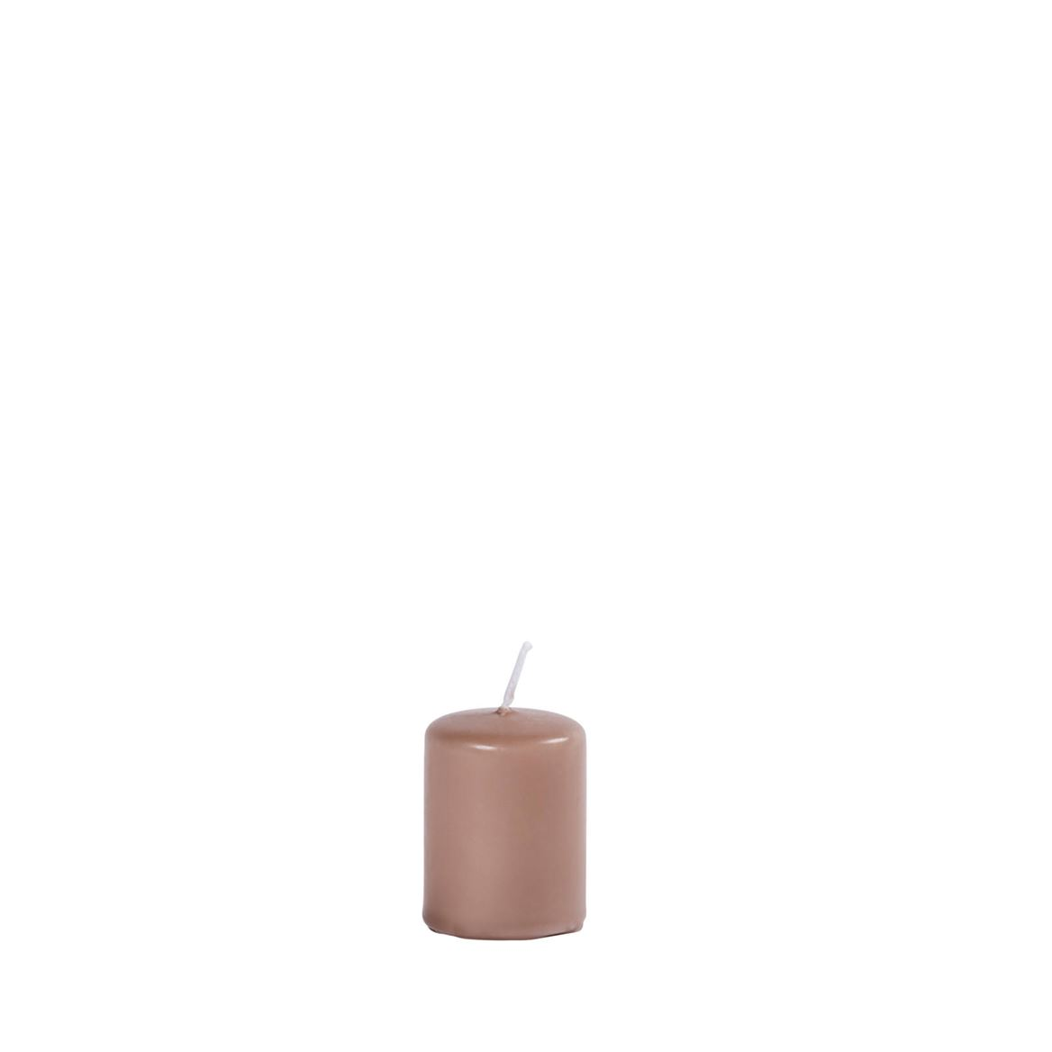 CILINDRO Candela taupe H 5 cm; Ø 4 cm_cilindro-candela-taupe-h-5-cm;-ø-4-cm