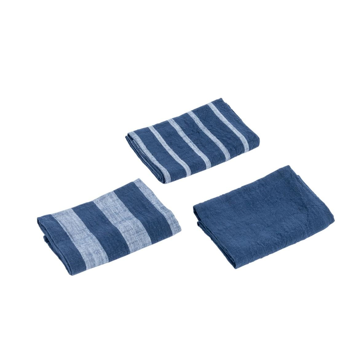 SCOTTY Torchon set de 3 bleu foncé Larg. 50 x Long. 70 cm_scotty-torchon-set-de-3-bleu-foncé-larg--50-x-long--70-cm