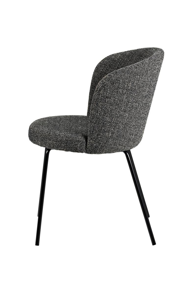 OLIVIER Chaise anthracite gris H 77 x Larg. 46 x P 43 cm_olivier-chaise-anthracite-gris-h-77-x-larg--46-x-p-43-cm
