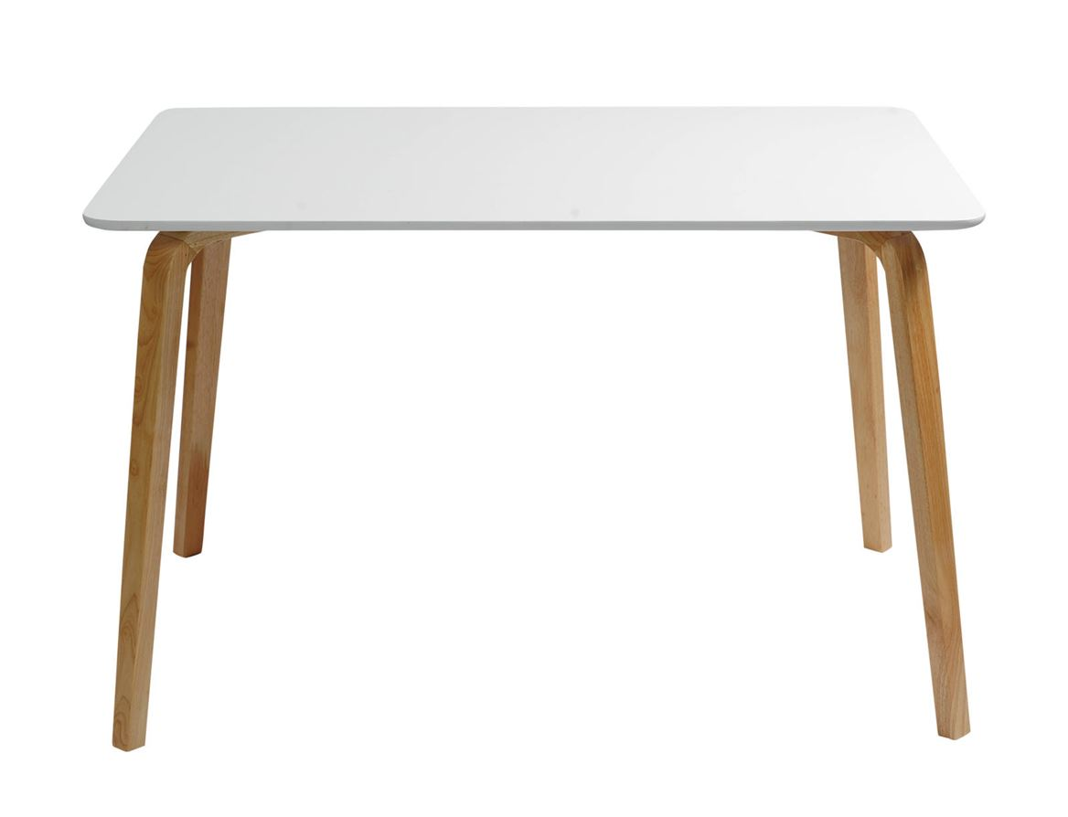 MAGNUS Table blanc, naturel H 75 x Larg. 80 x Long. 120 cm_magnus-table-blanc,-naturel-h-75-x-larg--80-x-long--120-cm
