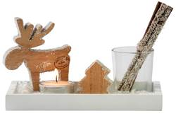MOOSE Decoratieset naturel H 11 x B 20 x D 11 cm