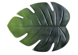 JUNGLE LEAF Set de table vert Larg. 48 x Long. 38 cm