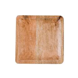 PURE LUXURY Bord naturel B 25 x D 25 cm